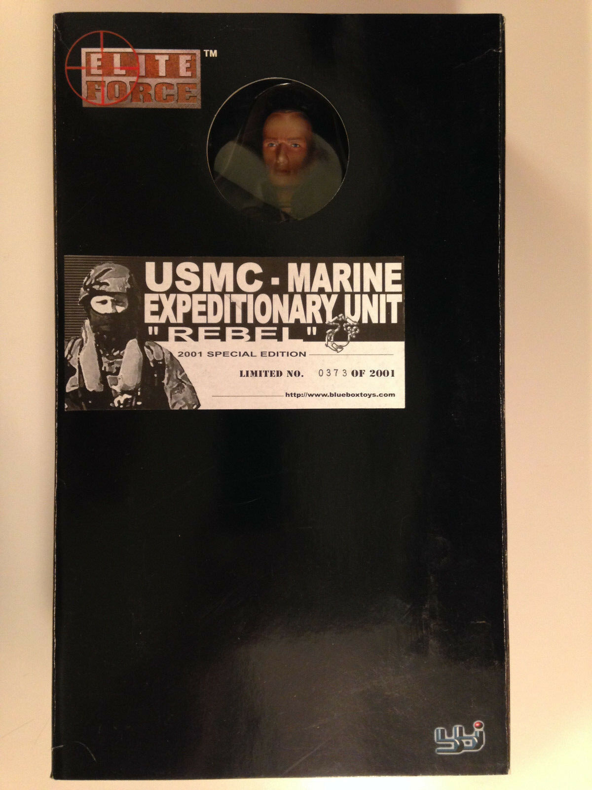 Elite Force 12  Usmc Marine expedicionarias Unidad Rebel Limitada Figura Bbi azul Box