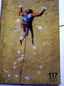 117 Mountain Magazine Escalade Alpes Alpinisme-afficher Le Titre D'origine La Qualité D'Abord
