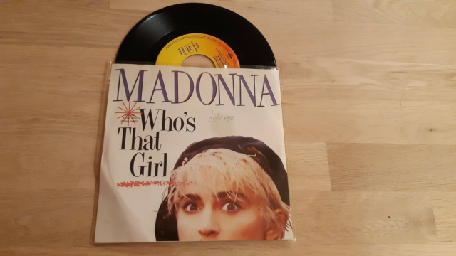 Single, Madonna, Who's that girl, Pop
