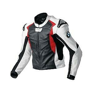bmw biker cuir veste moto cuir veste v tement en cuir motorbike eu 48 50 52 58 ebay. Black Bedroom Furniture Sets. Home Design Ideas