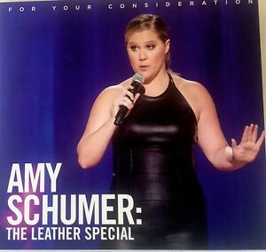 Amy Schumer The Leather Special Stand Up Show FYC Emmy Award Promo DVD 2017 - Santa Monica, California, United States - Amy Schumer The Leather Special Stand Up Show FYC Emmy Award Promo DVD 2017 - Santa Monica, California, United States