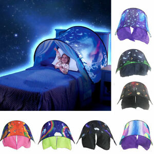 Dream-Tents-Kid-Unicorn-Space-Foldable-Tent-Pop-up-Indoor-Bed-House-Tents-Light