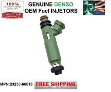 Set//6 OEM DENSO Fuel Injectors for 1993-2003 Toyota Land Cruiser 4.5//4.7L I6//V8