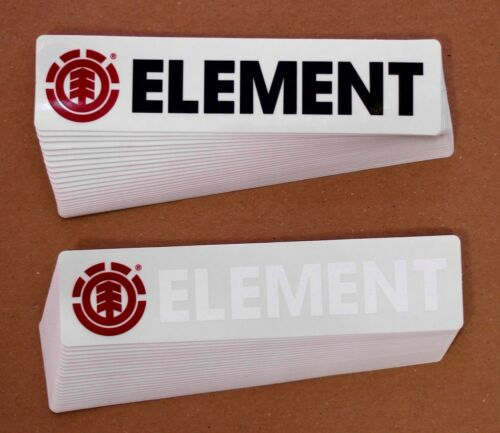 ELEMENT Script Logo Sticker 50er Pack Aufkleber