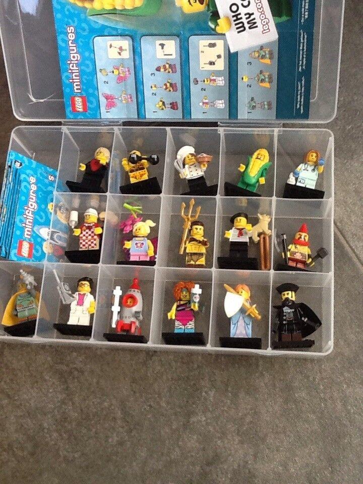 Lego minifigures series 17 - - - full set - 71018 - in case 5daa20