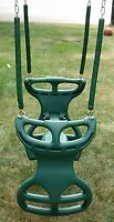 Swingset glider swing,back to back play set glider,playground horse swing,NEW,GY