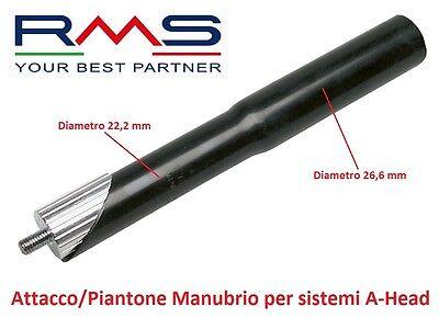 Attacco Corsa 22,2-100 mm Nero Piantone Manubrio Alluminio Bici Fixed