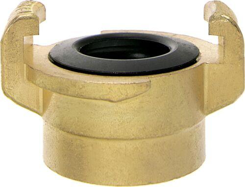 """Schlauchkupplung 7035.042 Wasser Klauenkupplung IG 1/"""" System Geka"""