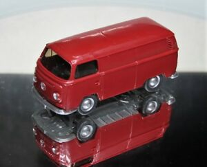 Wiking-1-87-VW-t2-transporter-especial-color-hellbraunrot-de-PMS-set