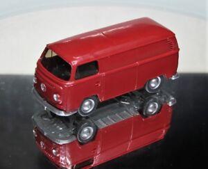 Wiking-1-87-VW-T2-Transporter-Sonderfarbe-hellbraunrot-aus-PMS-Set