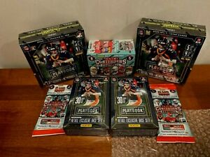2020 Panini Playbook Football NFL Mega Box Brand New Factory Sealed Tua Burrow?