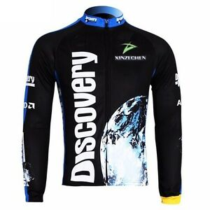 81e165856 Image is loading Discovery-Cycling-Clothing-Bike-Bicycle-Long-Sleeve-Cycling -