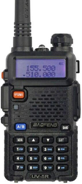 Beofeng UV-5R 8W VHF/UHF Double Bande Talkie-Walkie PMR446