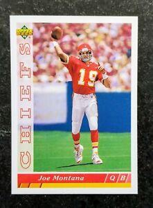 Football Card Base 1993 Upper Deck - Joe Montana #460