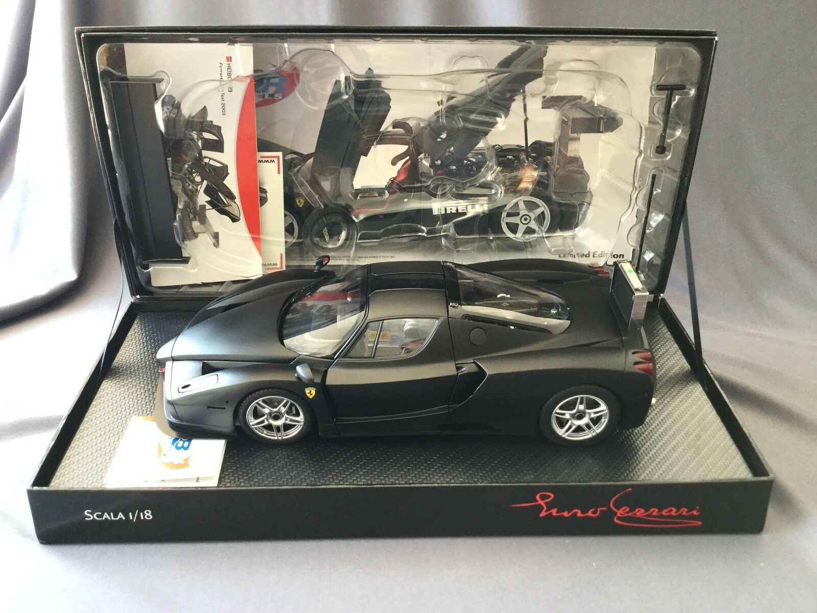 FERRARI ENZO TEST MONZA Special LIMITED Edition 211 items - 1:18 BBR Models