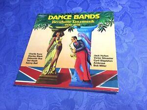 DANCE-BANDS-2LP-BERUHMTE-TANZMUSIK-1930-1970-RAR-COMPILATION-BBC-JUBILAUM-EX