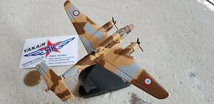 LeO-Liore-et-Olivier-45-WW2-Bomber-Metall-Fertigmodell-Avion-Aircraft-YAKAiR