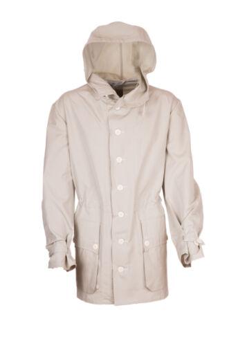 SNOW PARKA VTG Swedish Sateen 100/% Cotton Hooded Jacket Stone Beige M-XXL VGC