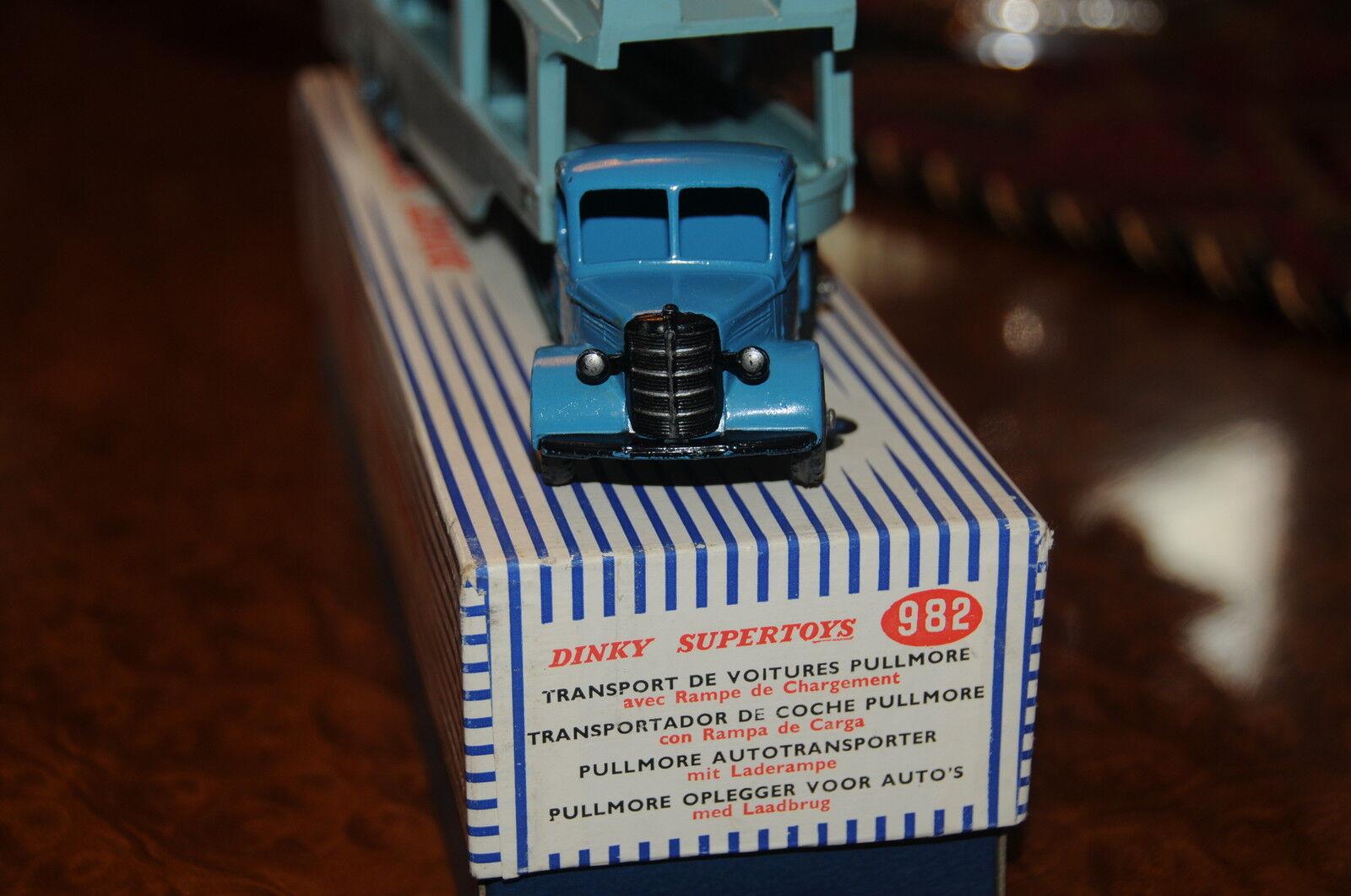 Vintage Dinky Supertoys     MIB   Pullmore Car Transporter   No. 982 87aae7