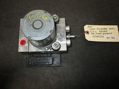 07 Yukon Escalade Gmc 6.2l Motore Pompa Abs & Modulo #15905731