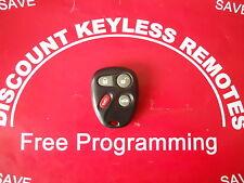 2001-2004 CHEVY CORVETTE Z06,MALIBU KEYLESS  25695954  REMOTE  #1 FACTORY REMOTE