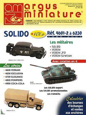 Argus de la Miniature, Spécial Solido Vol. 6