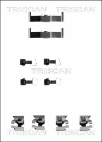 1x 8105 131159 TRISCAN Zubehörsatz Scheibenbremsbelag für TOYOTA