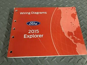 Factory 2015 Ford Explorer Electrical Wiring Diagrams EWD ...