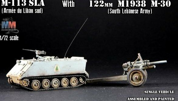 M-113 als with 122mm m1938 m-30, 1 72 model-miniature ready kit