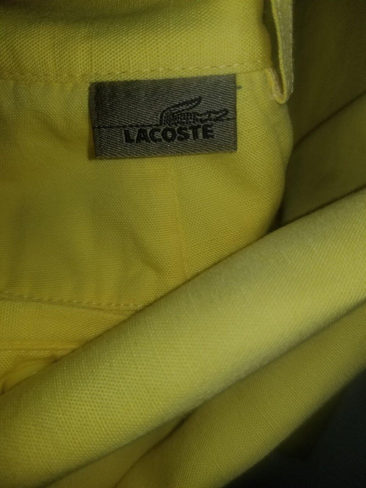 Authentic lacoste mens cotton-linen  pants size W32 L33