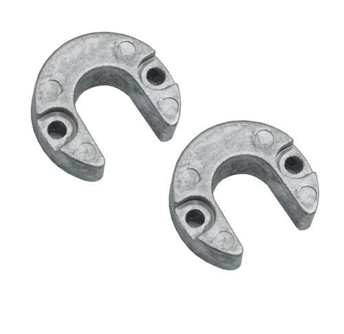 2x Trimmzylinderanoden Magnesium für Mercruiser Alpha One Gen 2 II Anoden Trimm