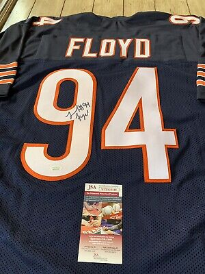 Leonard Floyd Autographed/Signed Jersey JSA COA Chicago Bears | eBay