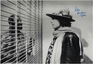 Rubin-Hurricane-Carter-Signed-Autographed-Huge-24x36-Photo-with-Bob-Dylan-COA