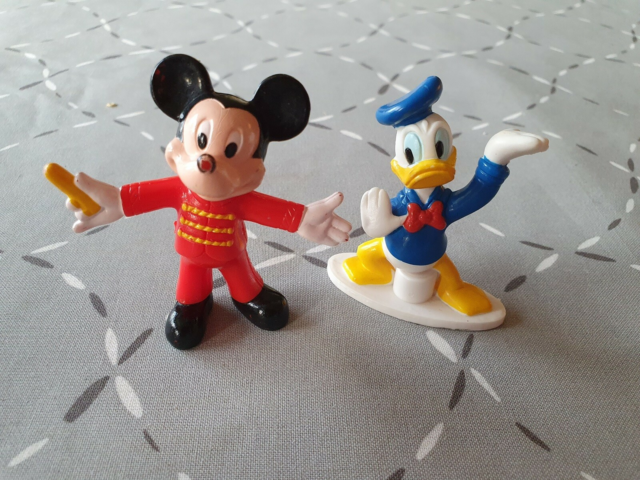 Andre samleobjekter, Disney figur, Anders And og Mickey…