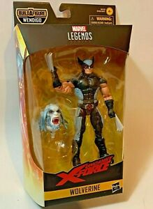 Marvel-Legends-X-Men-WOLVERINE-X-Force-Suit-6in-Figure-BAF-Wendigo-IN-STOCK