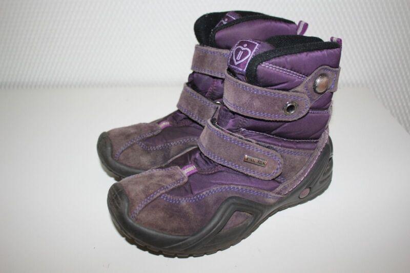 Imac Tex Winter Boots Stiefel Echtleder Thermo-schuhe Gr.29 Lila Eine VollstäNdige Palette Von Spezifikationen