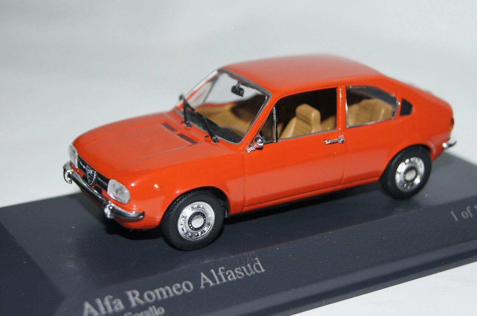 Alfa Romeo Alfasud 1972 rot 1 1 1 43  Minichamps neu & OVP 400120104 c12067