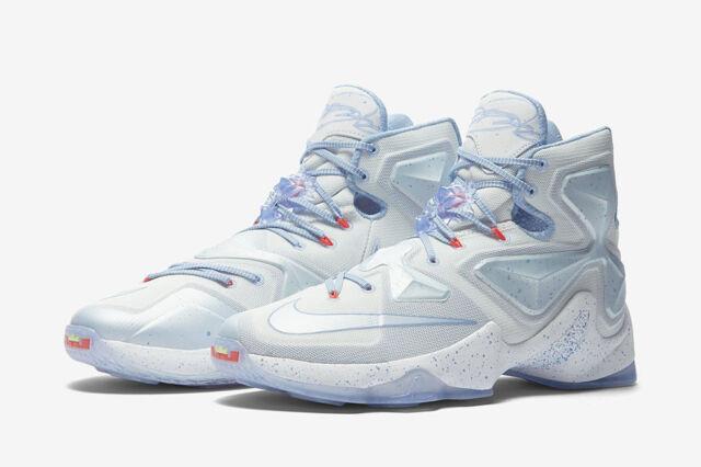 df5930c0a9a Nike Lebron XIII Xmas 816278 144 Summit White Christmas Size 9 for ...