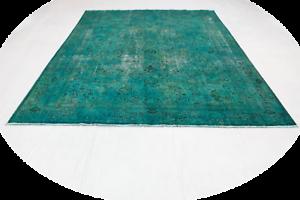 Tappeto Moderno Turchese : Top persiano tappeto vintage moderno chic turchese aspetto