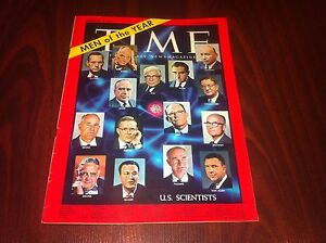 1961-JANUARY-2-TIME-MAGAZINE-U-S-SCIENTISTS-FRONT-COVER-no-label