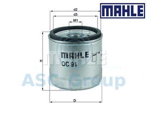 ORIGINAL-MAHLE-remplacement-VIS-A-MOTEUR-Filtre-a-huile-OC-91D-oc91d