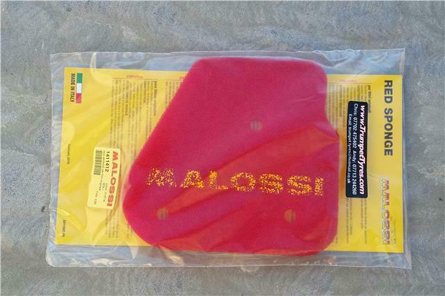 MALAGUTI YESTERDAY MALOSSI RED SPONGE PART NUMBER YM141412