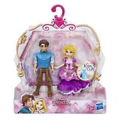 Bellissimo Disney Princess Prince & Princess Figura 2 Pack: Rapunzel & Flynn-nuovo Di Zecca-mostra Il Titolo Originale Conveniente Da Cucinare