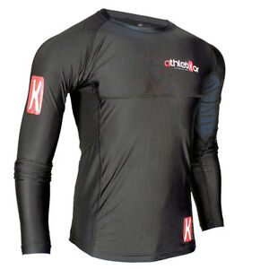 Kompressions T-Shirt in Premiumqualitä<wbr/>t_Spezielles Strechmaterial<wbr/>_Farbe schwarz