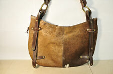 Argentinean Handcrafts Purse Leather HAIR shoulder Bag hobo