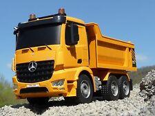 RC MULDENKIPPER LKW Mercedes mit 8 Funktionen 37cm Ferngesteuert 2,4GHz 404940