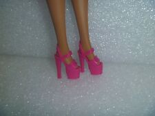 Barbie Shoes - Bold Pink Extreme Platform Stiletto Heel Pole Dancer Style