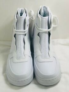 New Women S Nike Air Force 1 High Rebel Xx Triple White Shoes Size