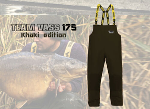 Clothing Fishing Vass Team Vass 175 Bib and Brace Khaki