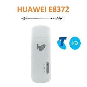 Details about NEW TELSTRA HUAWEI E8372 4GX/4G USB+WIFI MOBILE MODEM + DUAL  ANTENNA PORTS